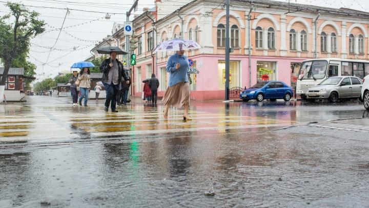 Сильный ветер и гроза испортят пляжный отдых ярославцам: экстренное предупреждение МЧС