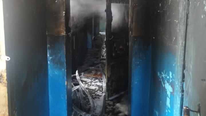 В Башкирии огонь унес жизни трех человек