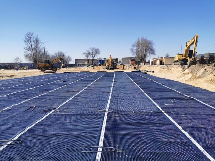 Основные работы на стройке начнутся с 6 апреля