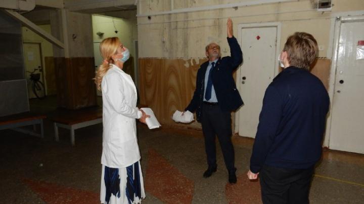 Министр здравоохранения Ирина Солдатова раскритиковала Марьяновскую ЦРБ