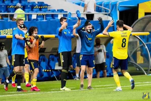 ФК «Ростов» по итогам сезона еще не потерял шансы на попадание в Лигу чемпионов