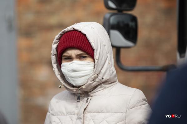 +5 новых случаев COVID-19 в Ярославской области на 7 апреля
