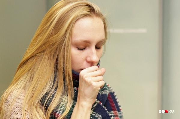 Один из возможных симптомов — кашель