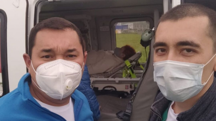 Главврач РКБ имени Куватова в Уфе рассказал, как санавиация доставляла пациентку в больницу
