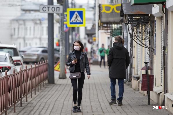 Ярославская область 19 мая заняла одно из лидирующих мест по приросту заболевших коронавирусом