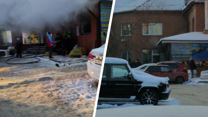 Во время пожара в сауне Кировского района погибла 26-летняя девушка