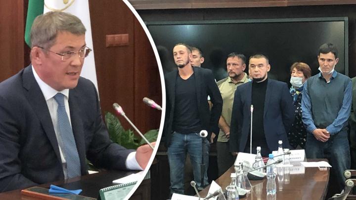 """«Я вам говорю """"Нет""""»: Радий Хабиров отказался пересесть напротив защитников Куштау"""