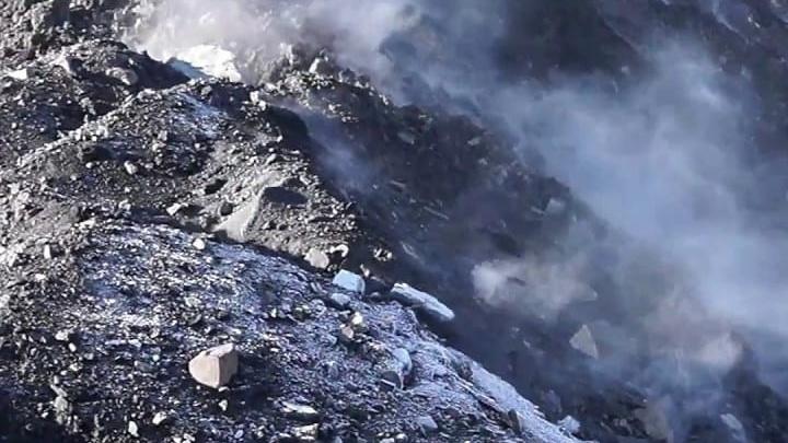 В Кузбассе три очага подземных угольных пожаров. Власти региона рассказали, что делают с ними