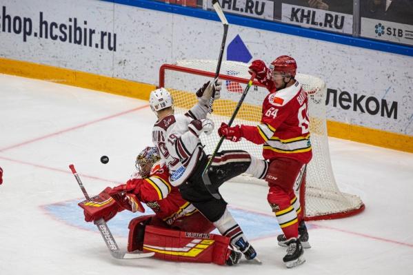Со счётом 2:1 выиграла команда «Динамо»