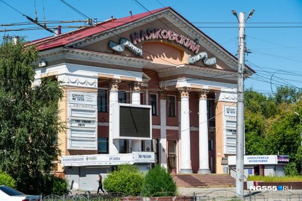 Омские кинотеатры не работают с конца марта