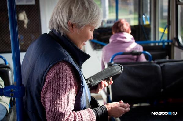 Департамент транспорта советует омичам запастись наличкой или воспользоваться картой «ОмКа»