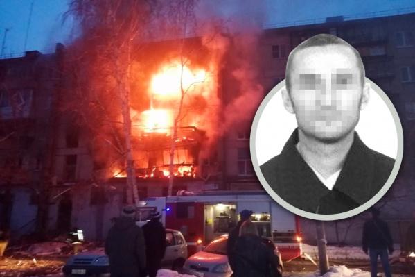 44-летний задержанный — родственник двух детей, находившихся в квартире во время взрыва