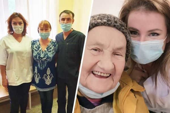 Сейчас у врачей очень много работы и много больных, но большинство пациентов вспоминает о своих спасителях с благодарностью
