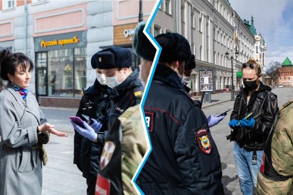 У нижегородцев начали активно проверятьQR-код, дающий право на выход из дома