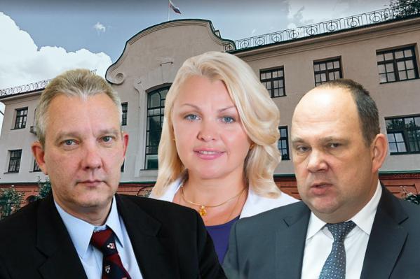 Светлана Гусева (в центре) возглавила рейтинг