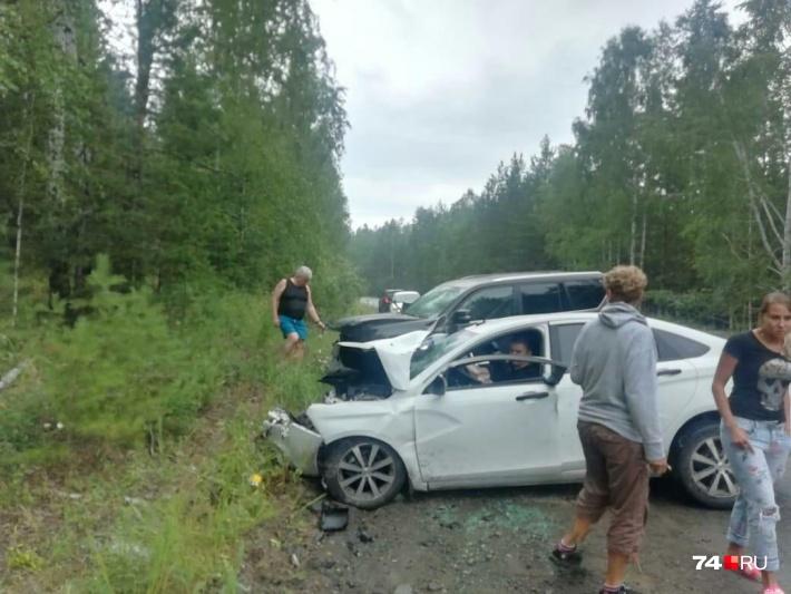 Авария произошла в августе прошлого года в Аргаяшском районе