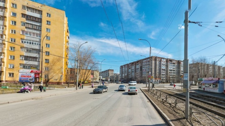 Из-за строительства трамвайной ветки в Верхнюю Пышму закроют движение по Фрезеровщиков