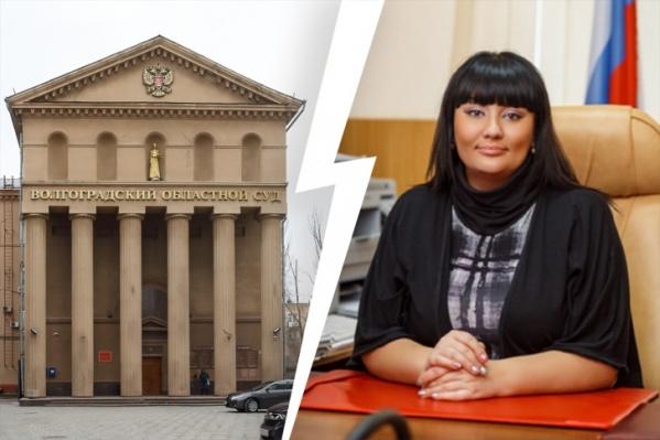 Судьбу председателя районного суда в Волгограде решат в пятницу, 30 октября