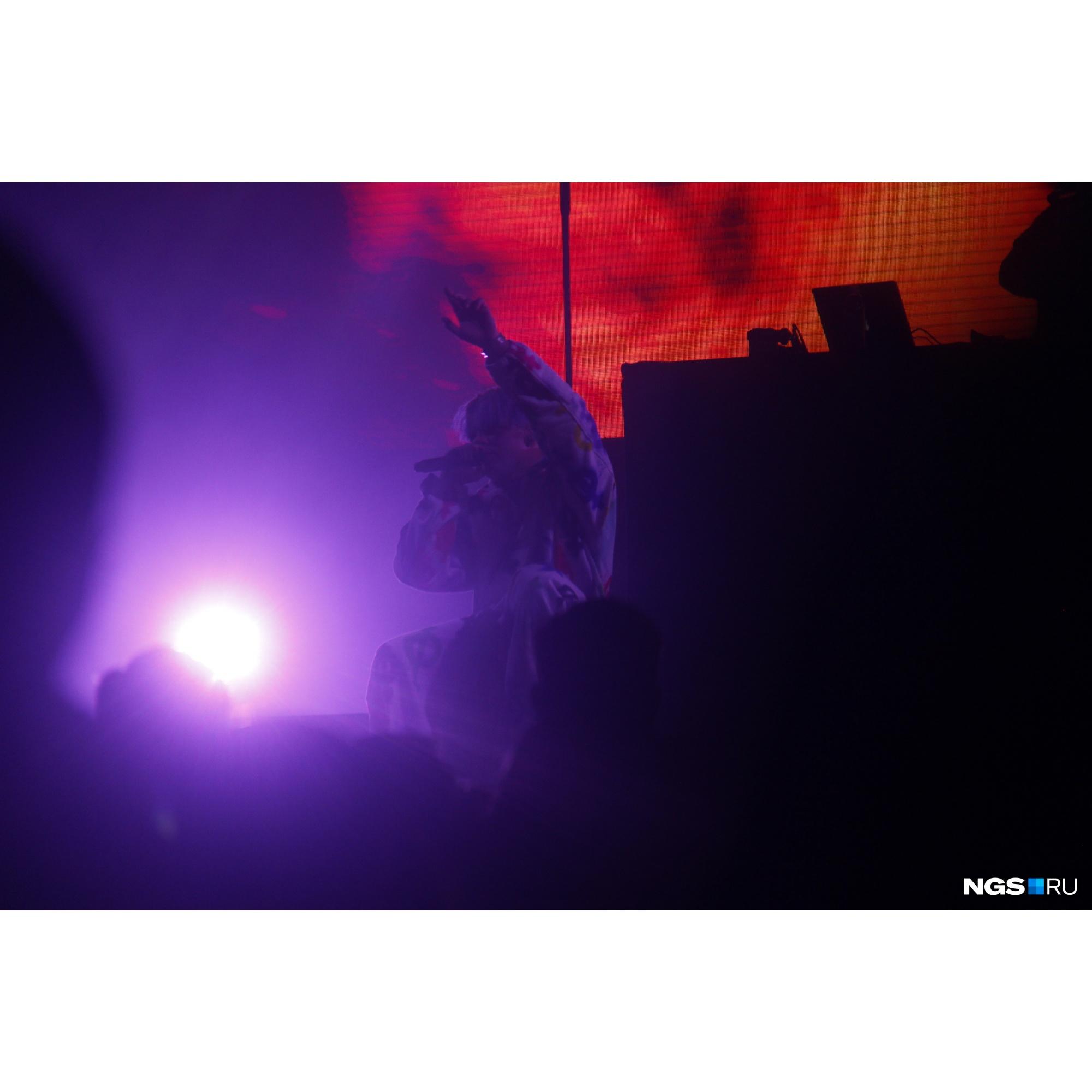 Билеты на концерт можно было купить от 1500 рублей