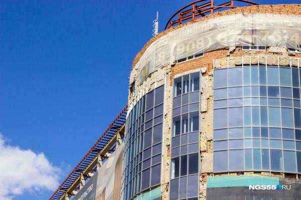 ОтельDoubleTree by Hilton на проспекте Мира начали строить еще в 2007 году