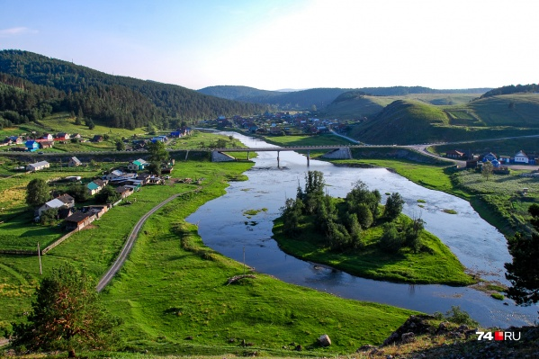 Типичная Челябинская область. Село Орловка