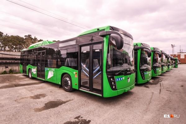 До конца года в Екатеринбурге появится еще 57 новых НефАЗов