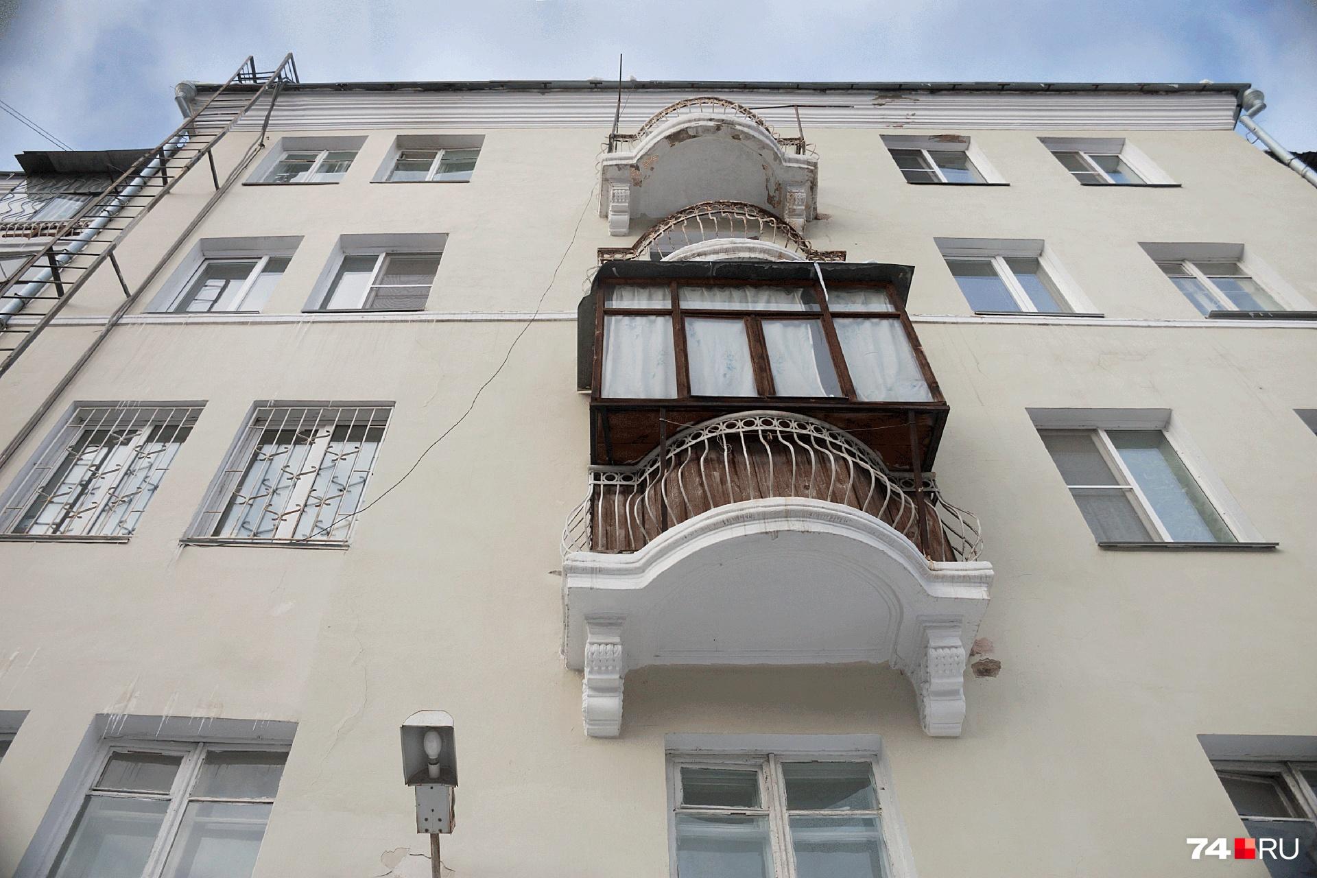 Увеличенные балконы еще и внешний вид фасада портят