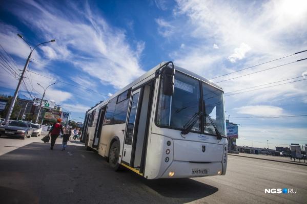 Новые автобусы планируют использовать на двух маршрутах