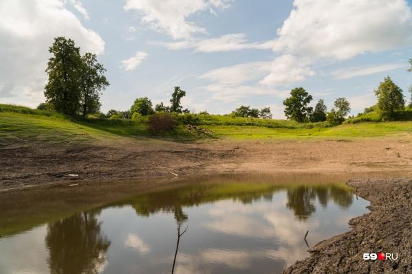 В прошлом году вода ушла из Щучьего озера