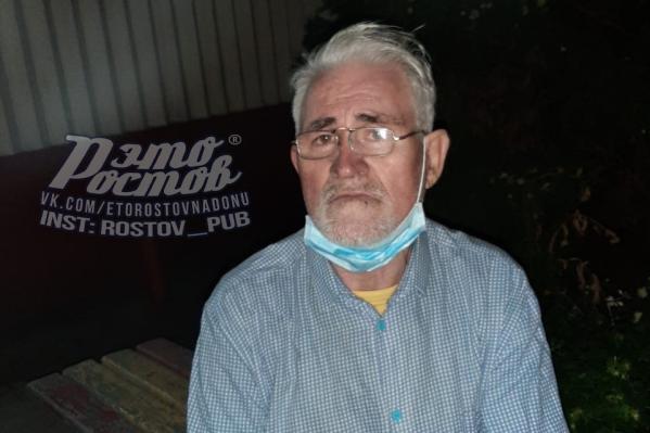 Ночь перед отъездом домой мужчина провел в медучреждении