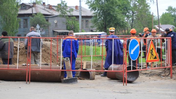 Опубликовали график отключения горячей воды в Архангельске