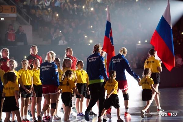 Первый матч сборная России сыграет 3 декабря против Испании