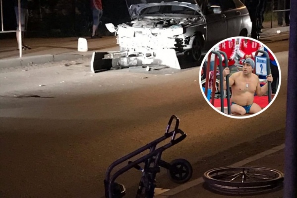 Водитель на отечественной легковушке сбил спортсмена с собакой около пешеходного перехода. Автомобилист был пьян