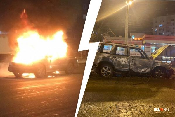Мужчина решил сжечь автомобиль своей любовницы, чтобы отомстить ей
