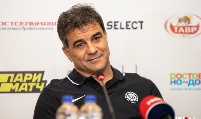 Пошумит напоследок: стало известно, когда главный тренер «Ростов-Дона» покинет команду