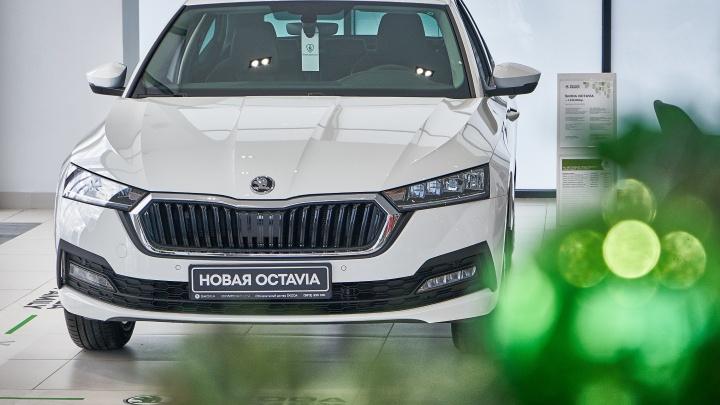 Wi-Fi в машине и кузов лифтбек: чем новая ŠKODAOCTAVIA удивила омичей на презентации