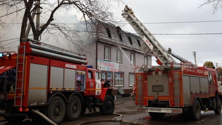 В Самаре арестовали предполагаемого владельца сгоревшего хостела