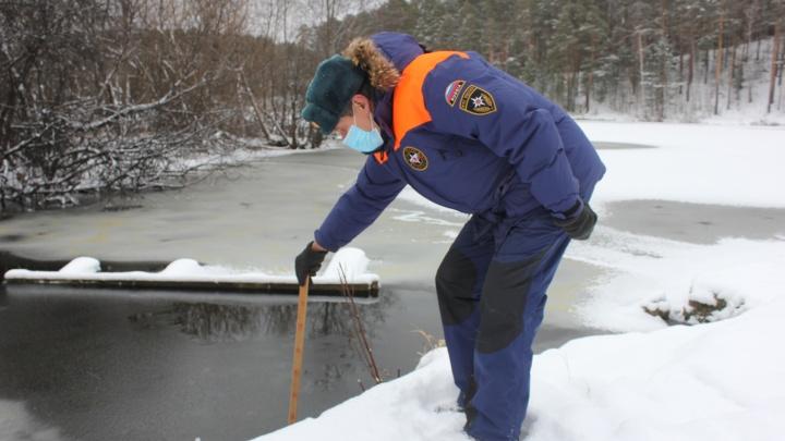 С октября на Урале три человека погибли, провалившись под лед