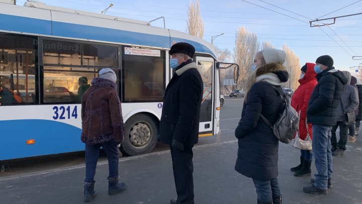 Без излишеств: как будет работать общественный транспорт Самары в новогодние праздники
