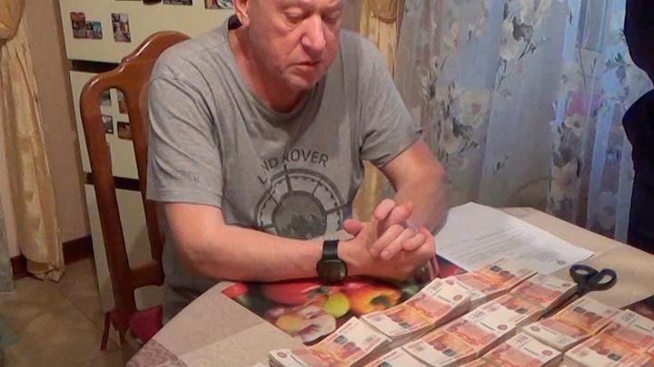 «Животные в доме есть?»: ФСБ показала видео обысков у Евгения Тефтелева (там много икон и денег)