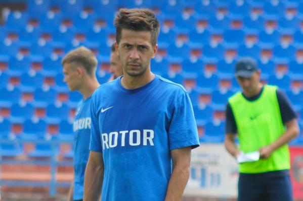 В прошлом сезоне футболист играл за подмосковные «Химки»