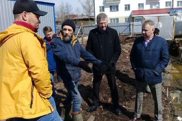 Строительство ЖК River Park ведется за пределами территории Михаило-Архангельского монастыря. Это подтверждено данными георадарного исследования