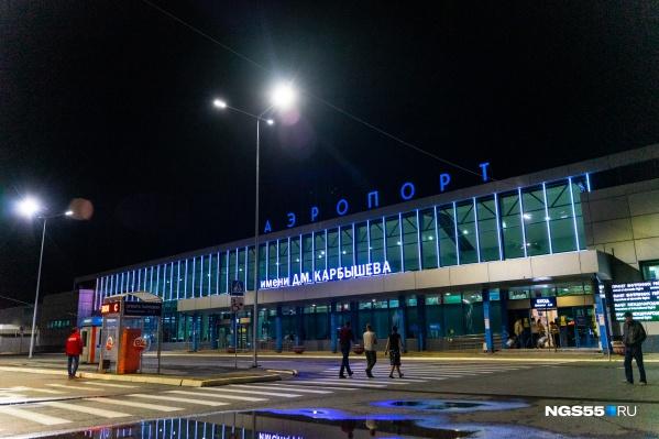 Международные рейсы из «Омского аэропорта» не выполняются с конца марта