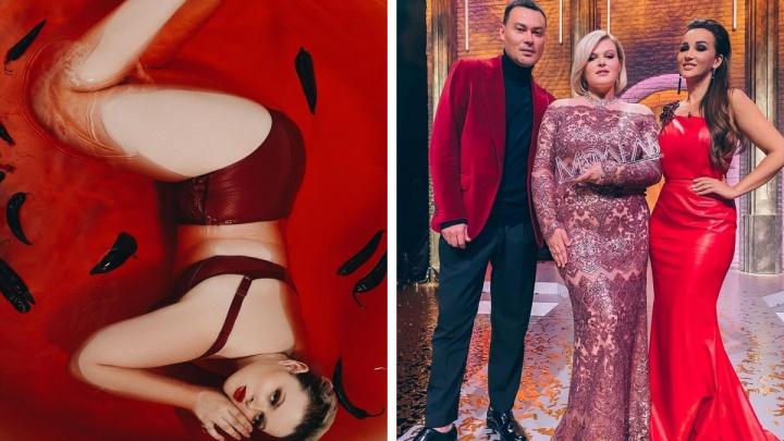 18-летняя красноярка победила в шоу полных моделей, которое ведет Анфиса Чехова