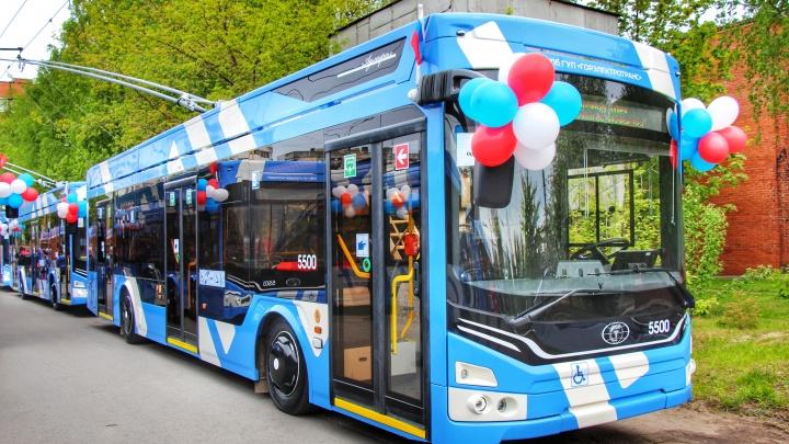Департамент транспорта анонсировал покупку новых троллейбусов для Самары