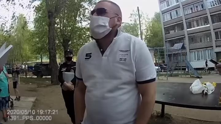 Суд отказался арестовывать мужчину, которого жестко задержали на Уралмаше за нарушение самоизоляции