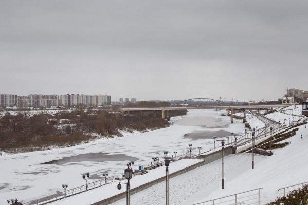 Пешеходный мост появится между автомобильными мостам на Профсоюзной и Челюскинцев