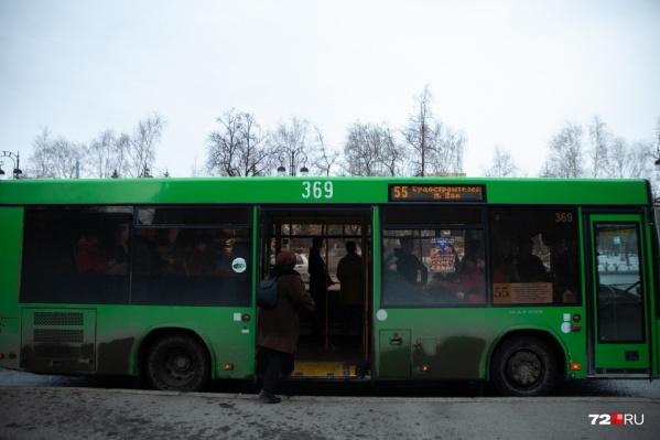 Общественный транспорт будет ездить, как в Новый год