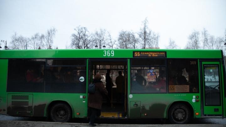 На время недельного карантина в Тюмени сократят количество автобусов