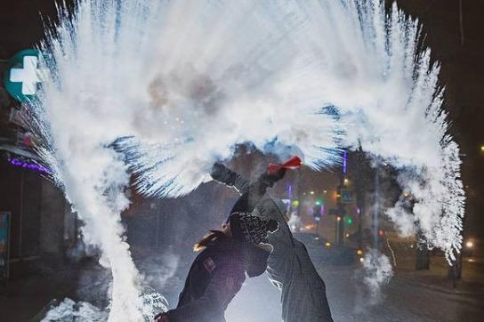 Фотосеты в -40: смотрим подборку красноярцев из Instagram